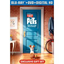 The Secret Life Of Pets (Blu-ray + DVD + Digital HD + Figurine) (Walmart Exclusive) (Bilingual)