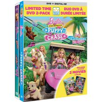 Barbie & Her Sisters In A Puppy Chase (DVD + Digital HD) / Barbie & Her Sisters In The Great Puppy Adventure (Bonus DVD) (Walmart Exclusive) (Bilingual)