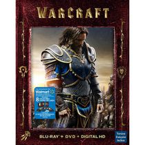 WarCraft (Blu-ray + DVD + Digital HD + Collectible Cards) (Walmart Exclusive) (Bilingual)