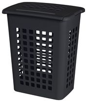 Sterilite Rectangular Black Laundry Hamper