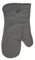 Hometrends Oven Mitt with Silicone Grey