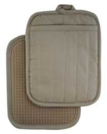 Hometrends Potholder with Silicone Taupe