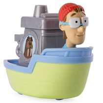 PAW Patrol Rescue Racers Captain Turbot's Boat Toy Vehicle