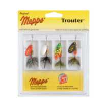 Mepps 4-Pack Trouter Kit - Dressed Treble Hooks