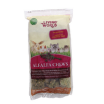 Living World Alfalfa Chews, 454 g (16 oz)