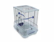 "Vision Bird Cage for Small Birds, Small Wire, 45.5 x 35.5 x 51 cm (18 L x 14 W x 20"" H)"
