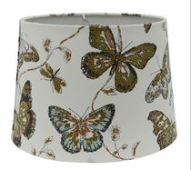 "Home Trends 13"" Blue Butterfly Lamp Shade"