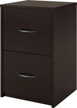 Dorel 2 Drawer File Cabinet