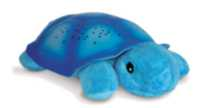 Cloud B - Classic Twilight Turtle Nightlight Blue