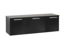 Coal Harbor Wall Mounted Buffet Black