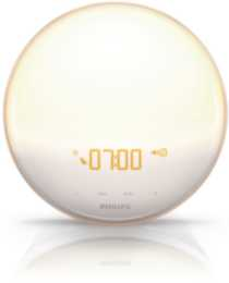 Philips Wake-Up Light with Coloured Sunrise Simulation HF3520/60