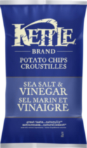 Kettle Chips Sea Salt and Vinegar Gluten Free Potato Chips