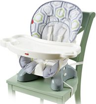 Prince lionheart boosterpod for Chaise haute fisher price