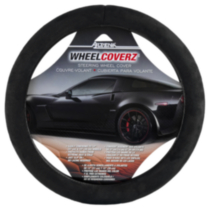 Black Memory Foam Steering Wheel Cover