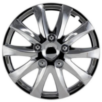 "16"" Chrome Wheel Cover 4 pack"