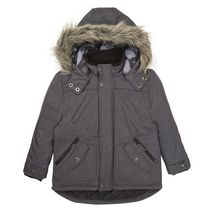 George British Design Boys' Grey Parka 5-6