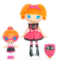 Bea Spells-a-Lot Specs Reads-a-Lot Mini Lalaloopsy Littles Doll