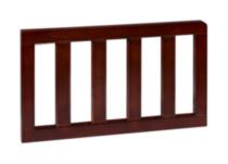 Toddler Bed Guard Rail-Black Cherry/Espresso