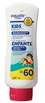 Equate KIDS Sunscreen Lotion SPF 60