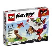 LEGO(MD) Angry Birds - L'attaque en avion du cochon (75822)