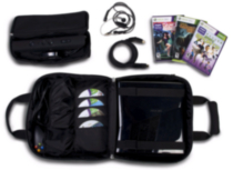 Multi Function Carry Case for XB 360 Slim and Kinect