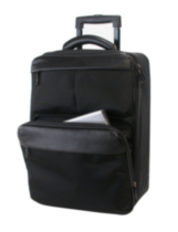 Bond Street, Carry-On Computer/Brief Case in Nylon Construction,466100BLK