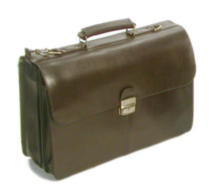 Porte-documents en cuir, 768182 de Bond Street Brun