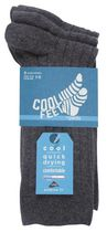 Cool Feet Men's 3 Pack Socks