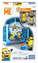 Mega Bloks Despicable Me Factory Fiasco Playset