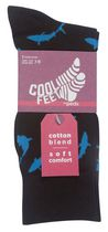 Cool Feet Men's Cotton Blend Socks