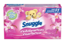 Snuggle® Exhilarations® Fabric Softener Sheets