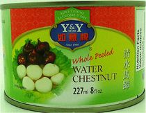 Y&Y Whole Peeled Water Chestnut