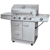 Backyard Grill Stainless Steel 4 Burner Gas Grill BBQ - GBC1562WD-C