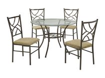 Brassex 5-Piece Dining Set