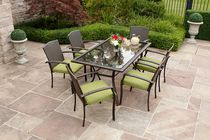hometrends Tuscany 7 Piece Dining Set