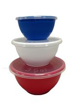 Mainstays 6-Piece Covered Bowl Set