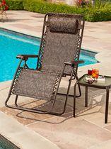 Acheter chaises longues et chaises de mobilier en ligne for Chaise 0 gravite