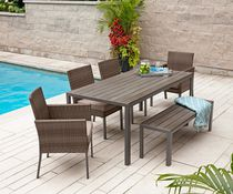 hometrends Sedgwick 6 Piece Dining Set