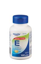 Equate Vitamin E 100 IU Softgels