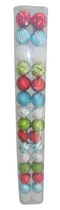 Holiday Time 30-Piece Shatterproof Ornaments