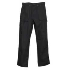 G4586 Genuine Dickies Duck Logger Work Pant Black 36x32