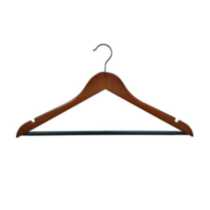 20 Pack Wood Hanger-Cherry