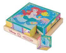 Melissa & Doug Disney Princess Wooden Cube Puzzle