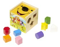 Melissa & Doug Disney Baby Winnie the Pooh Wooden Shape Sorting Cube