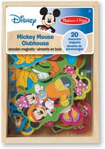 Melissa & Doug Aimants en bois Mickey Mouse Clubhouse