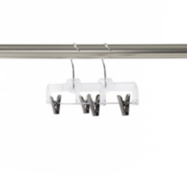 Neatfreak 2 Pack Crystal Pant Hanger with Clips