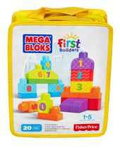 Mega Bloks Ensemble de jeu 1-2-3 comptez! First Builders