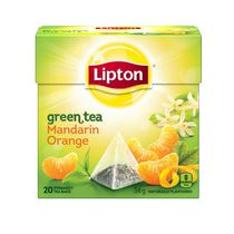 Lipton Mandarin Orange Green Tea Bags