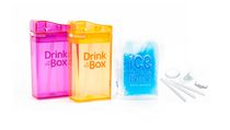 Drink in the Box Girls' 8 oz Drink Box Value Pack