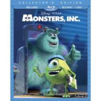 Monstres, Inc. (2 Disques Blu-ray + DVD) (Édition De Collection)